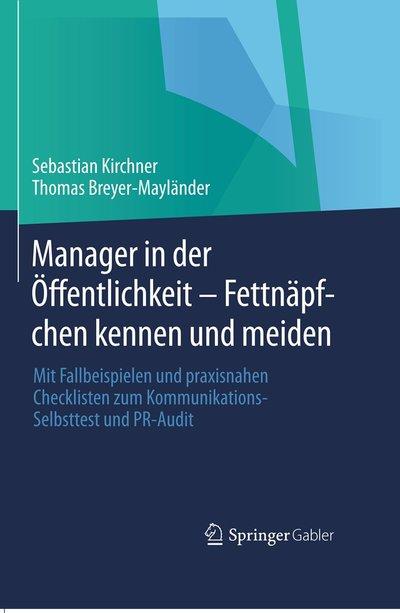 Buchcover: Manager in der Öffentlichkeit
